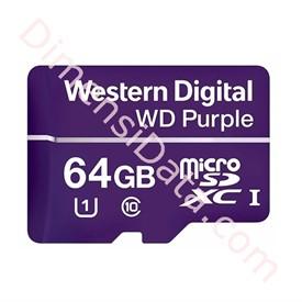 Jual MicroSDXC Western Digital Purple 64GB [WDD064G1P0A]